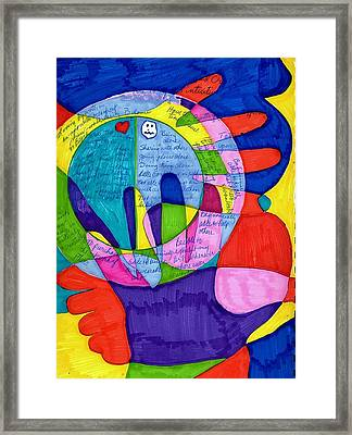 My Left Foot And Hand Framed Print