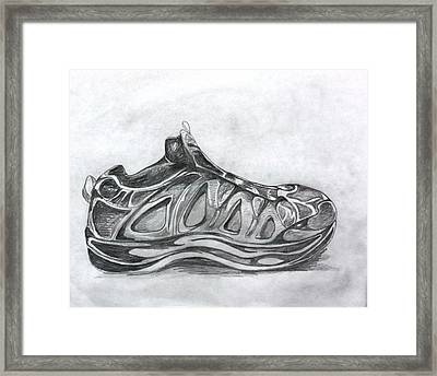 My Left Foot Framed Print by Pat Purdy
