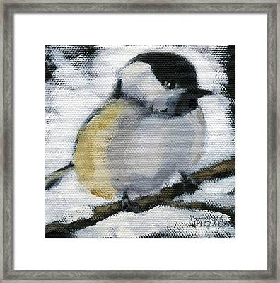 My Little Chickadee Framed Print