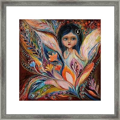 My Little Fairy Francine Framed Print by Elena Kotliarker