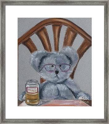 My Little Honey Framed Print by Linda Eversole