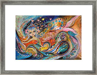 My Little Mermaid Lucille Framed Print by Elena Kotliarker