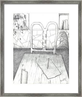 My Loft Framed Print by Dusty Reed
