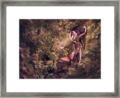 Bianca Framed Print by Shinji K