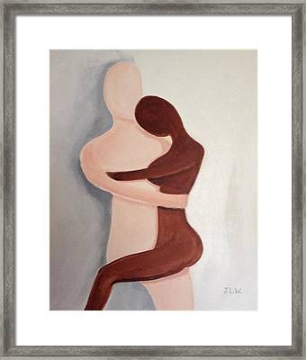 Framed Print featuring the painting My Love by Justin Lee Williams