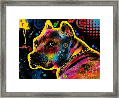 My Lovely Guy Framed Print by Mark Ashkenazi
