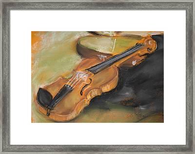 My Lttle Violin Framed Print