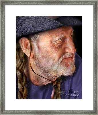 My Man Willie Framed Print