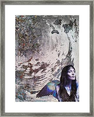 My Manic And I Framed Print by Megan Henrich