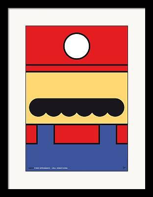 Super Mario Bros Framed Prints