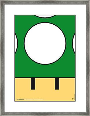 My Mariobros Fig 05b Minimal Poster Framed Print