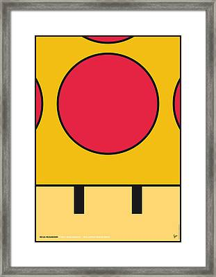 My Mariobros Fig 05c Minimal Poster Framed Print