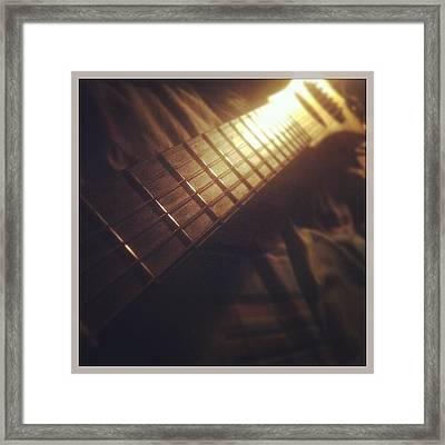 My Martin Framed Print