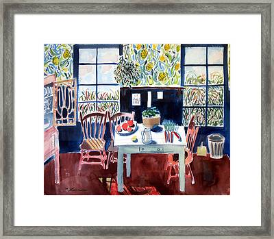 My Matisse Kitchen Framed Print