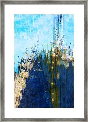 My Midtown Tomorrow Framed Print