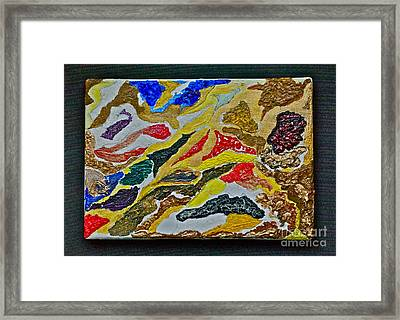 My Modern Art. Framed Print by  Andrzej Goszcz