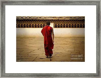 Framed Print featuring the digital art My Monastery  by Angelika Drake