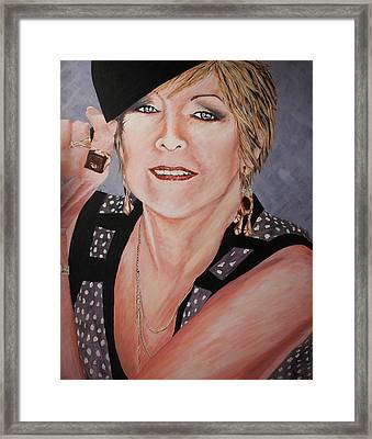 My Mother My Life Framed Print by Briony Sullivan