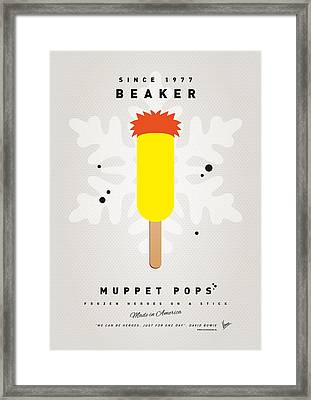 My Muppet Ice Pop - Beaker Framed Print by Chungkong Art
