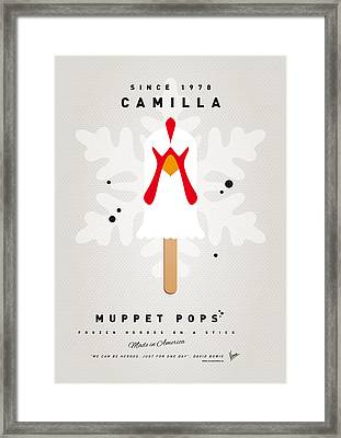 My Muppet Ice Pop - Camilla Framed Print