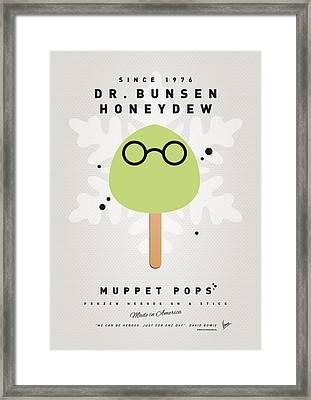 My Muppet Ice Pop - Dr Bunsen Honeydew Framed Print by Chungkong Art