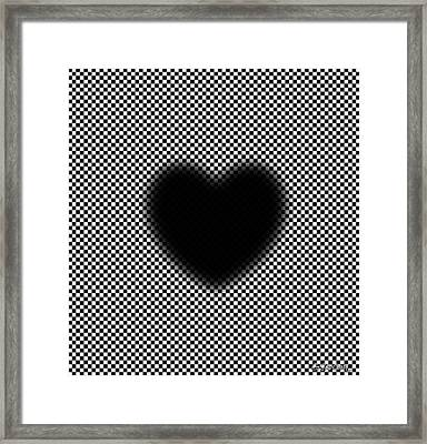 My Mystic Pulsating Heart Framed Print
