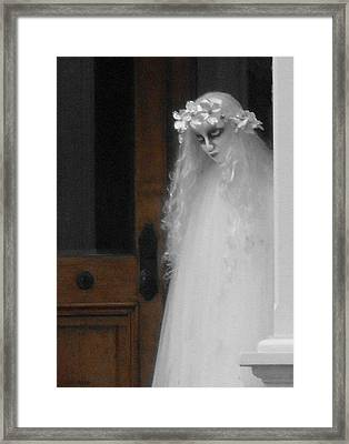My Name Is Lisa Framed Print by Val Arie