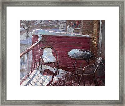 The Neighbors Framed Print