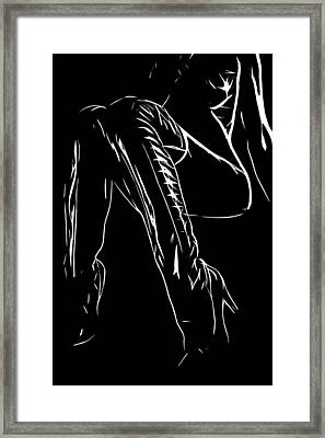 My New Boots Framed Print by Steve K