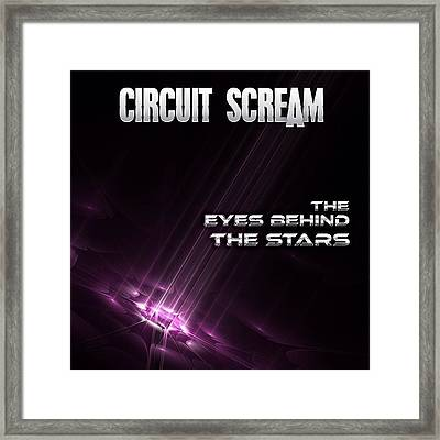 The Eyes Behind The Stars Cover Art Framed Print
