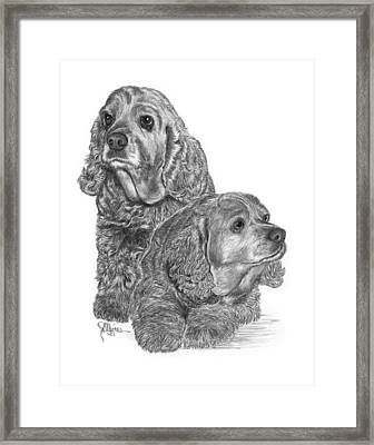 My Old Friend Kaylee Framed Print
