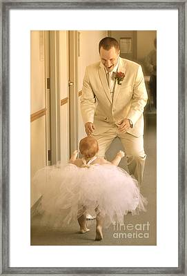 Framed Print featuring the photograph My One And Only by Barbara Dudley