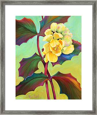My Oregon Grape Framed Print