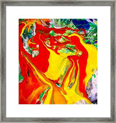 My Paintings Scream  Framed Print by Bruce Combs - REACH BEYOND