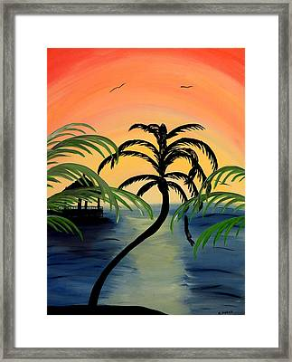My Paradise Framed Print by Mark Moore