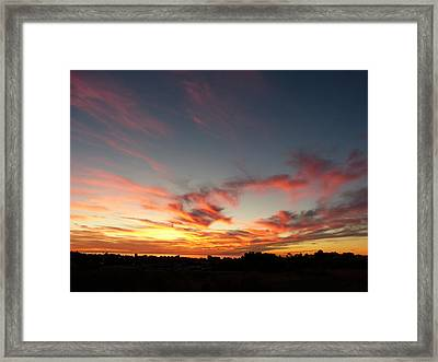Framed Print featuring the photograph My Place Under The Sky by Janina  Suuronen