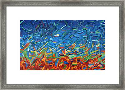 My Path Framed Print by Michael Ciccotello