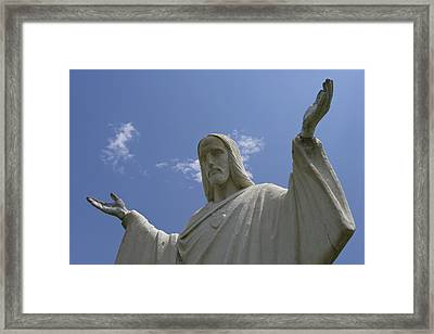 My Peace Be With You Framed Print