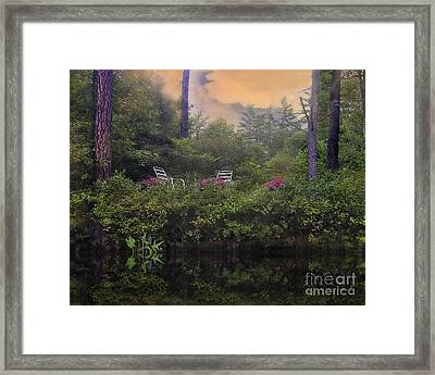 My Peaceful Place Framed Print by Brenda Giasson