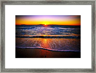 My Peaceful Place Framed Print by Eric Benjamin
