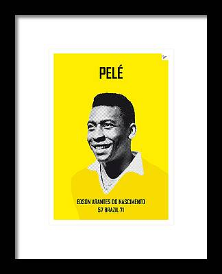 Designs Similar to My Pele Soccer Legend Poster