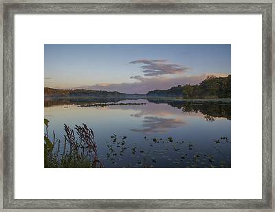 My Place Tonight Framed Print by Michael J Samuels