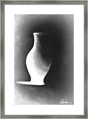 My Pride In Negative Space Framed Print by Susan Windy Moraa