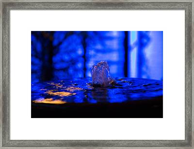 My Private Fountain Framed Print