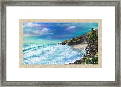 My Private Ocean Framed Print