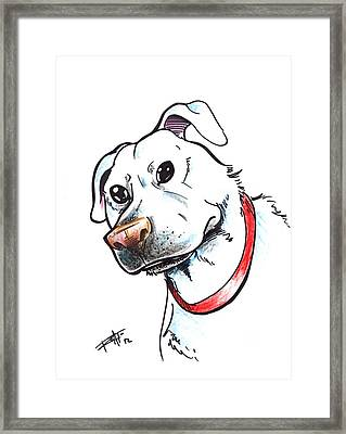 My Pup Framed Print by Big Mike Roate