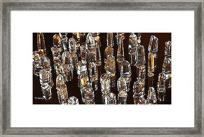 My Quartz Crystal Collection Framed Print