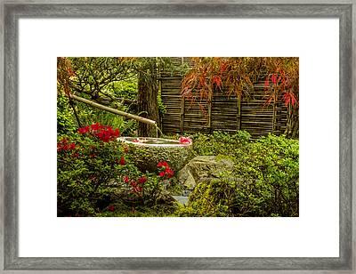 My Quiet Corner Framed Print