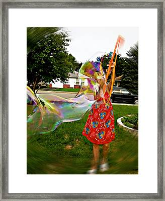 My Rainbow  Dreams Framed Print