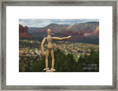 My Real Estate Framed Print by Heather Kirk